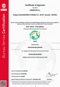 Certificado ISO TS